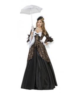 Déguisement Marquise Estella noir femme