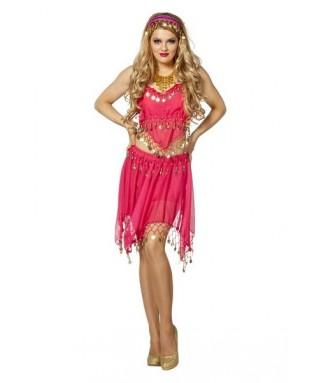 online here 2018 shoes detailed look Déguisement oriental femme rose - Happy Fiesta Lyon