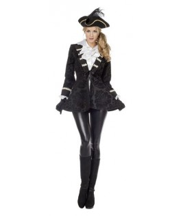 Déguisement veste de Pirate femme - Happy Fiesta Lyon