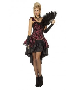 deguisement robe cabaret burlesque femme