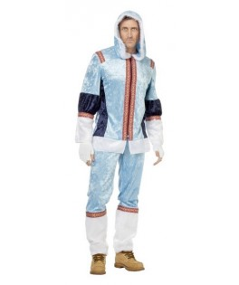 deguisement esquimau bleu homme