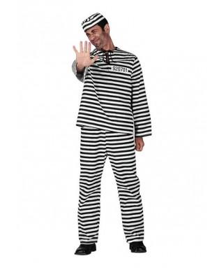 deguisement bagnard prisonnier homme