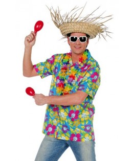 deguisement chemise hawai homme