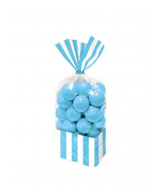sachets bonbons bleus