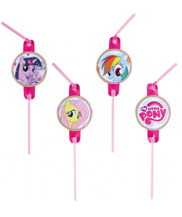 Pailles anniversaire My Little Pony