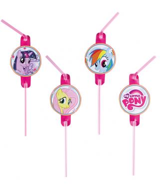 Pailles anniversaire My Little Pony