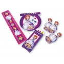 Sets de 20 cadeaux papeterie Princesse Sofia The First Love