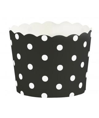 moules cupcakes noir