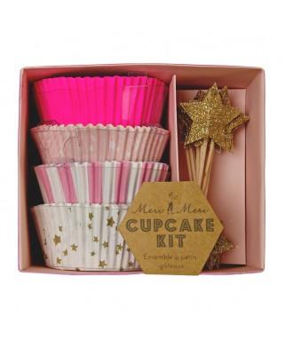 kit a cupcakes rose meri meri