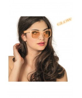 Lunettes Glow in the dark orange