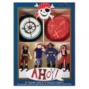 Kit de 24 moules pour cupcakes Pirate Ahoy