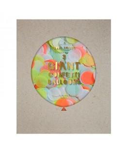 ballons geants confettis fluo meri meri
