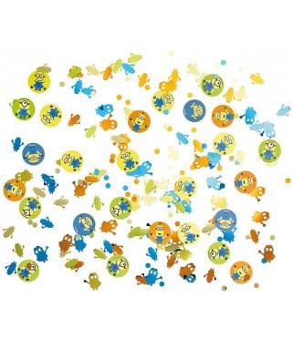 confettis de table les minions