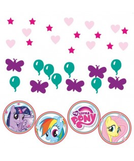 confettis anniversaire my little pony