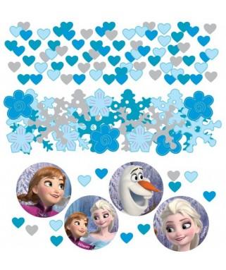 confettis de table la reine des neiges