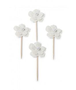 pics gateaux fleur dentelle