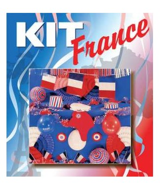 kit de d coration tricolore euro 2016 happy fiesta lyon. Black Bedroom Furniture Sets. Home Design Ideas