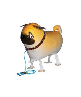 ballon marcheur chien carlin