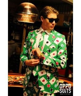 Déguisement Homme Opposuit Poker Face