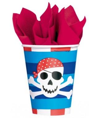 gobelets anniversaire garçon pirate treasure