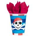 8 Gobelets Pirate Treasure