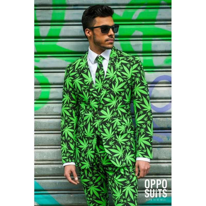 Hommes Cannaboss Opposuit Cannabis Desig