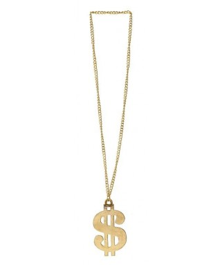 Collier Dollars or standard homme