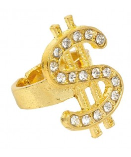 Bague Dollars or