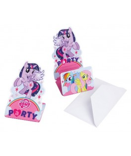 invitations anniversaire my little pony