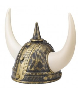 Casque de viking adulte bleu