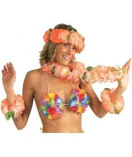 soutien gorge hawai fleurs