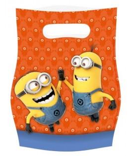 sacs cadeaux minions