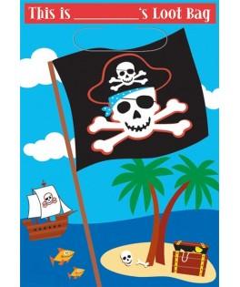 sacs cadeaux anniversaire pirate party