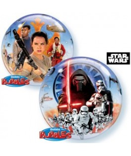 ballon bubble Star Wars The Force Awakens