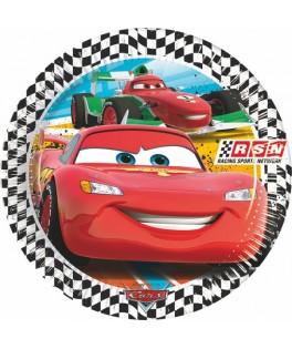 assiettes rondes cars