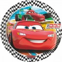 Assiettes Cars RSN  x8