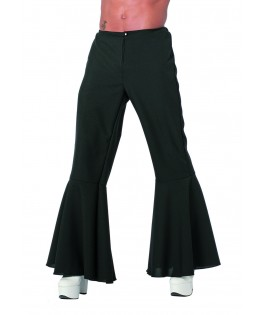 Déguisement Homme Pantalon Hippie noir