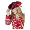 Chapeau Pirate Tricorne Nœud rouge