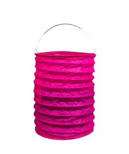 lampion papier fuschia