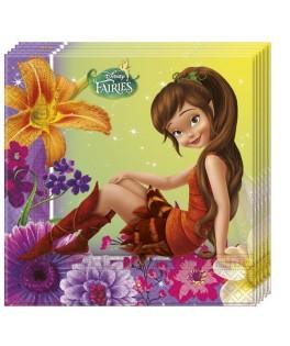 serviettes fairies