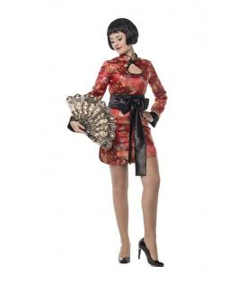 deguisement longue robe chinoise