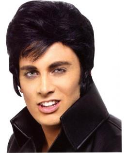 perruque Elvis rock