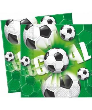 serviettes football