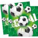 Serviettes Football  x20