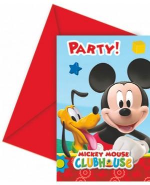 invitations anniversaire mickey