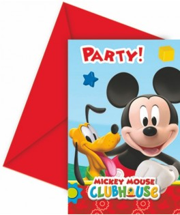 invitations anniversaire mickey