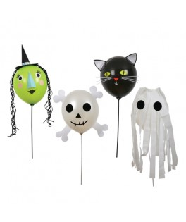 kit de 8 ballons halloween