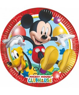 Assiettes Mickey  x8