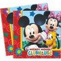 Serviettes Mickey x20