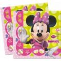 Serviettes Minnie Mouse Bowtique  x20